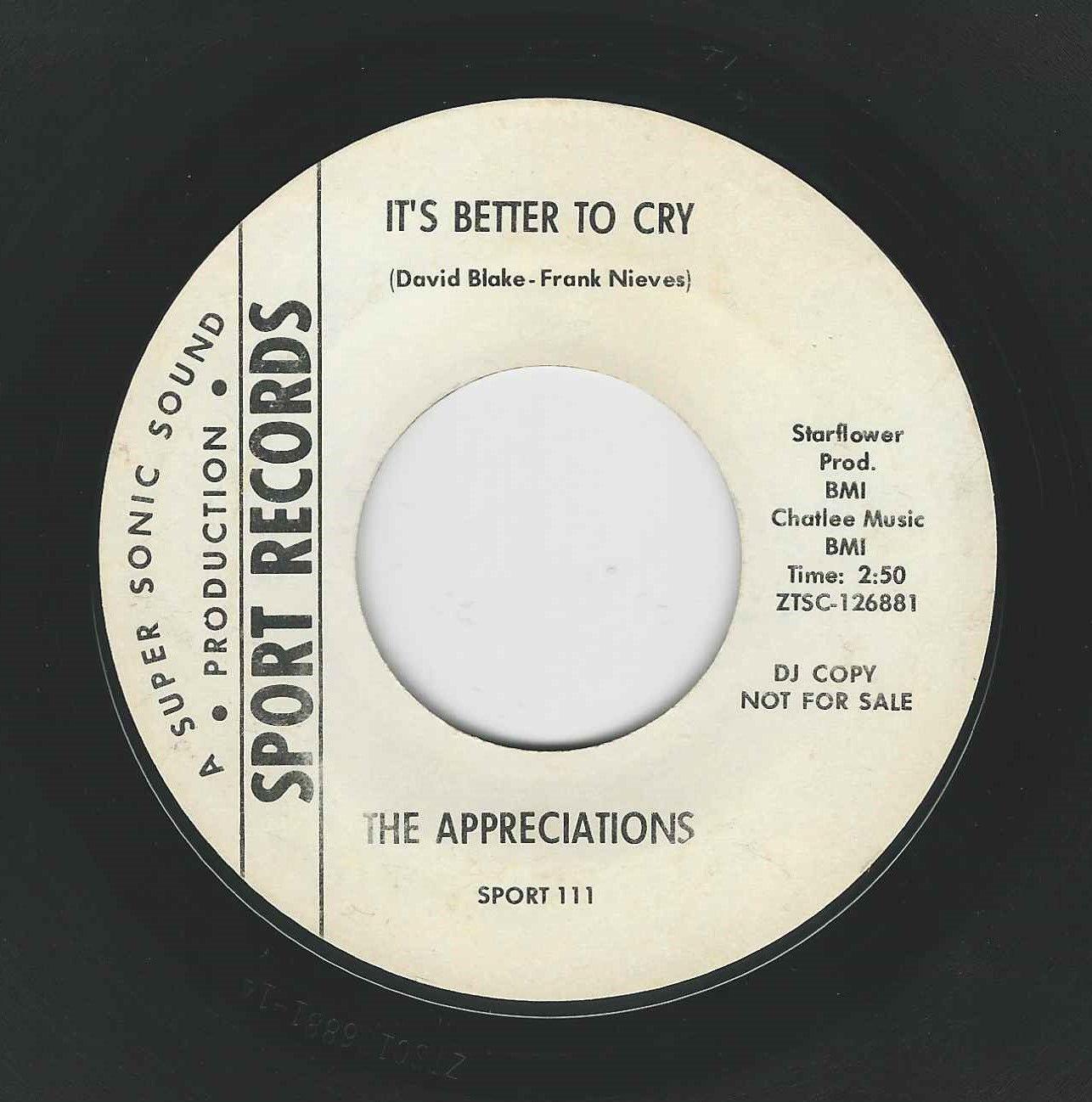 THE APPRECIATIONS